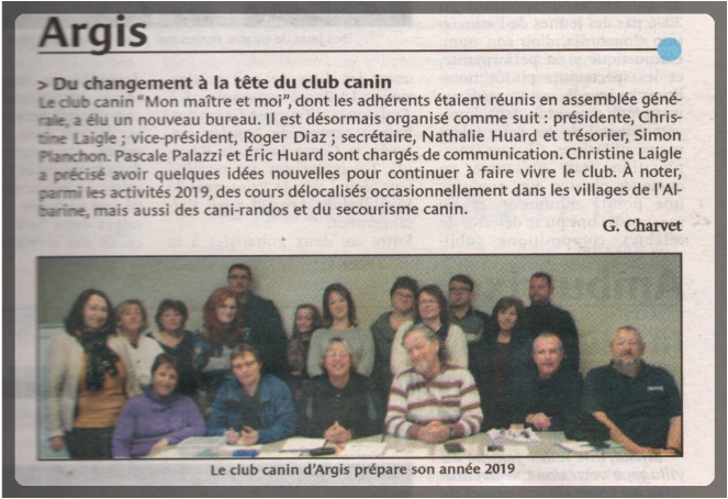 Le journal du bugey 29 11 2018